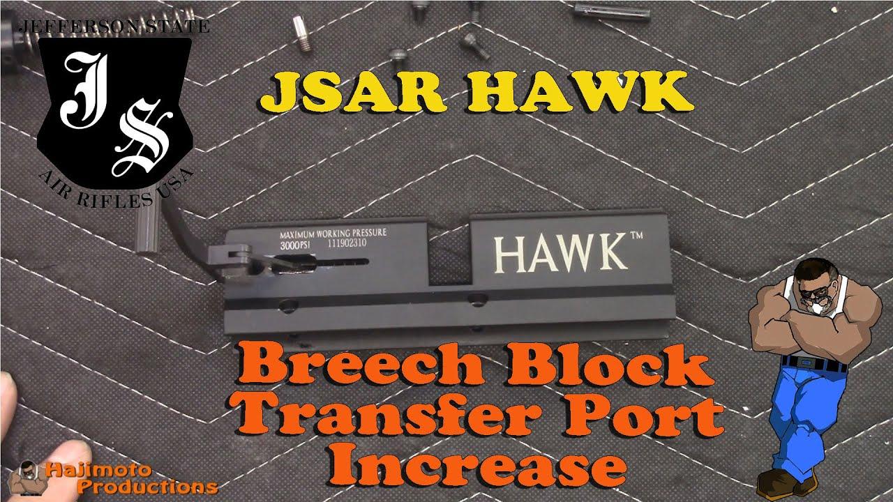 Tutorial: JSAR HAWK Breech Transfer Port Mod