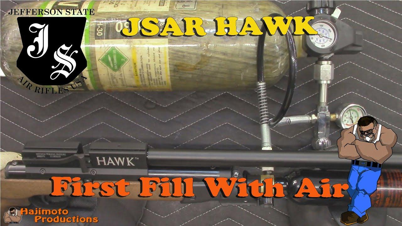 Tutorial: JSAR HAWK First Fill With Air
