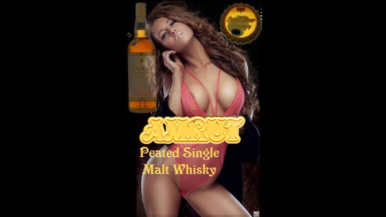 Flask #29  AMRUT Peated Single Malt Whiskey
