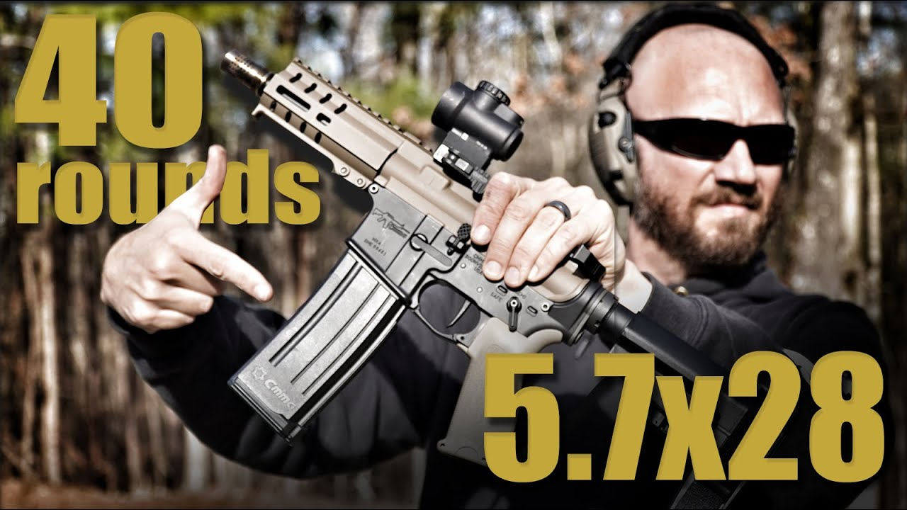 40 Rounds! CMMG 5.7x28 AR Conversion