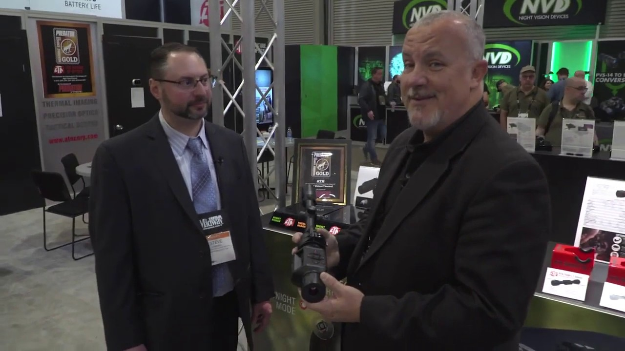 Get Zone - A Look At The New ATN TICO LT Thermal Clip-On Sight - Shot Show 2020