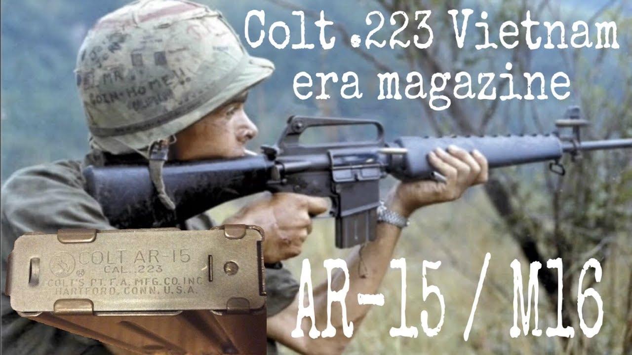 Colt .223 Vietnam era 20 round magazine