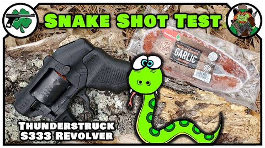 Thunderstruck S333 Revolver -VS- Snakes - Is It Viable?