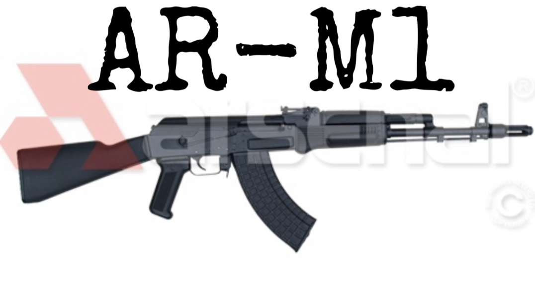Arsenal SAM7R to AR-M1 Bulgarian Infantry rifle | Black set Warsaw Bulgarian furniture