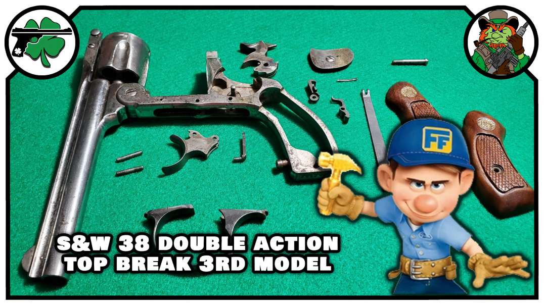 S&W 38 Double Action Top Break 3rd Model Revolver - Should I REPAIR It?