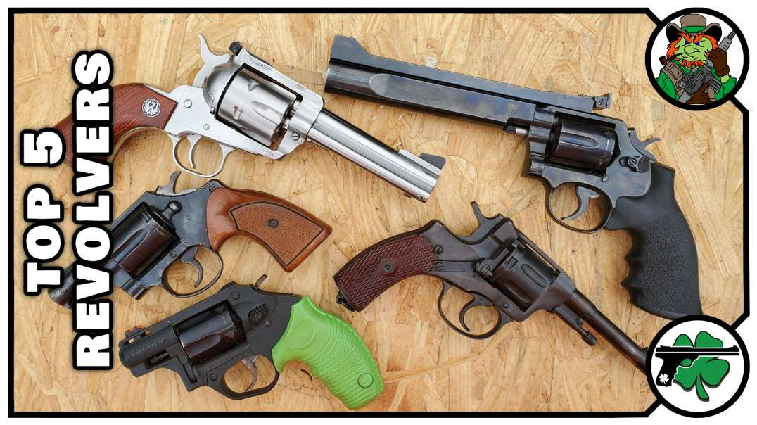 My TOP 5 Favorite Revolvers March 2020 Edition