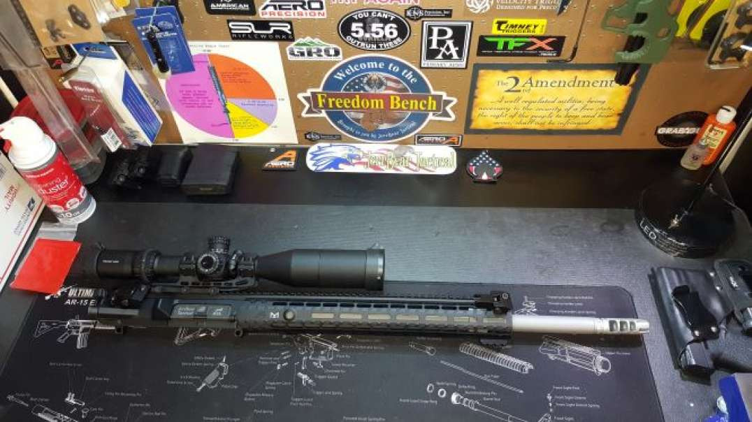Aero Precision .308 AR-10 Completed Upper … It's Finished !!! GS