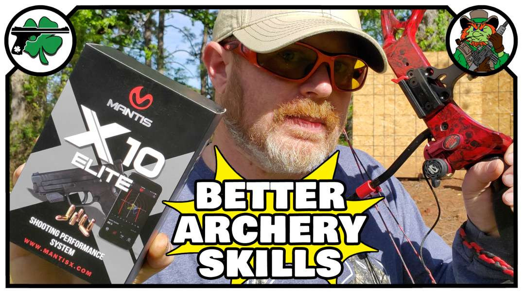 Get BETTER At Archery With  The HIGH TECH Mantis x10 Elite