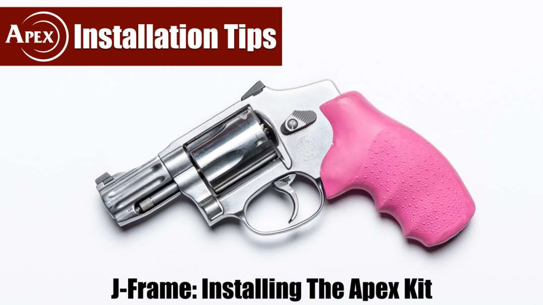 How To Install The Apex Kit In The J-Frame Revolver