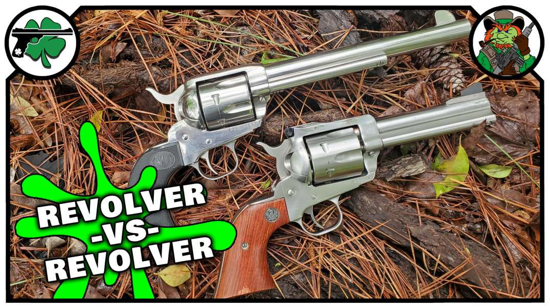 Ruger Blackhawk -VS- Ruger Vaquero (Bench Review)