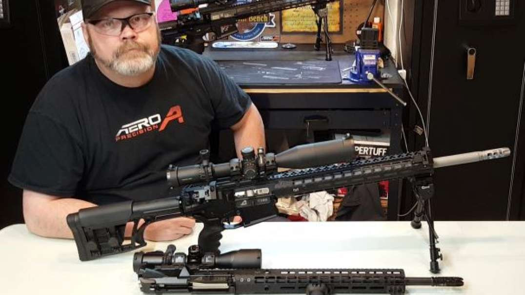 Aero Precision .308  AR-10 M5 Rifle with a look at both Complete Uppers ! GS