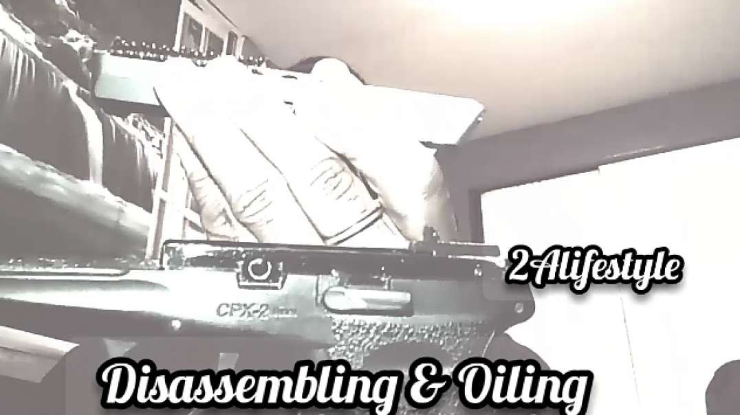 Disassembling And Oling My Firearm