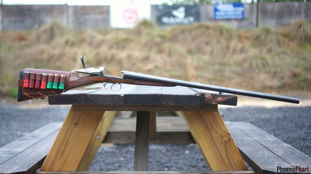 The French Darne* Sliding Breech Shotgun in 12 Gauge