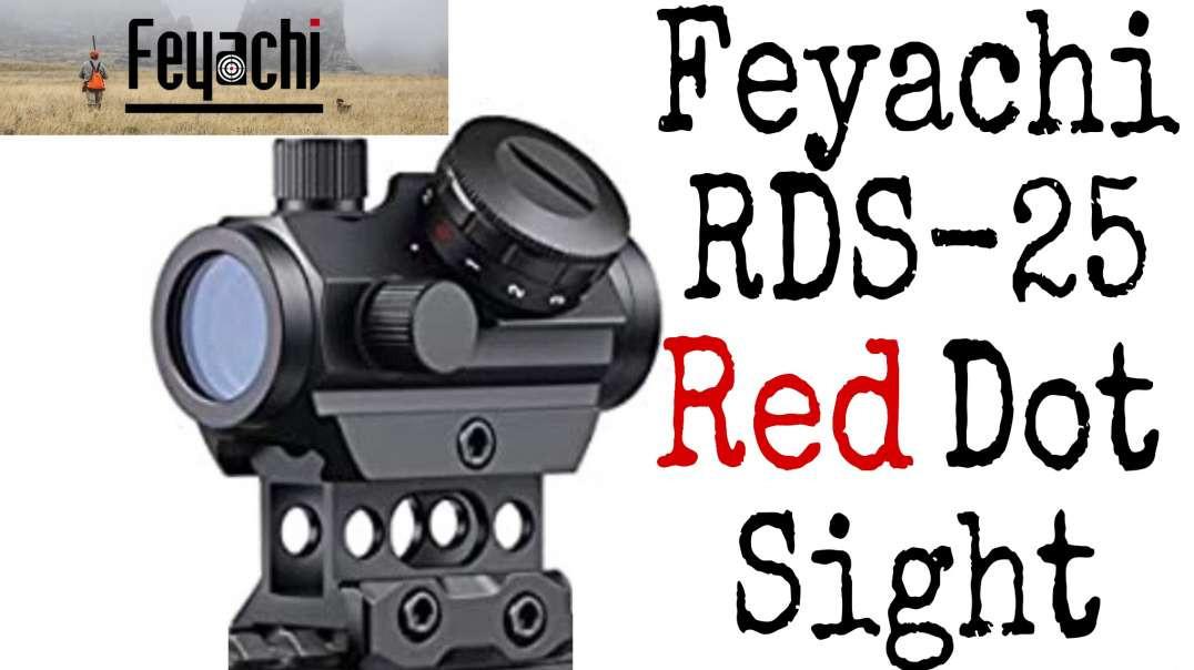 Feyachi RDS-25 Red Dot Sight unboxing Molot Vepr Day 2020 setup