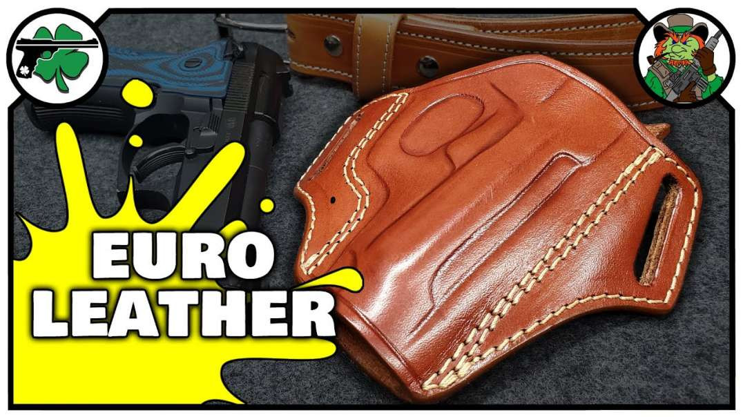 Leather Open Top OWB Holster For Beretta Cheetah EDC From Craft Holsters (Bench Review).mp4