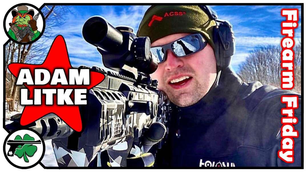 Adam Litke Talks Team IWI & Holosun On Firearm Friday