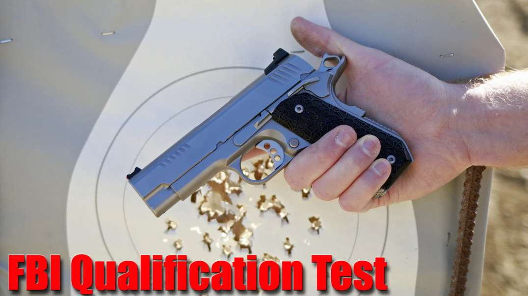 FBI Qualification Test Ed Brown KC9 1911