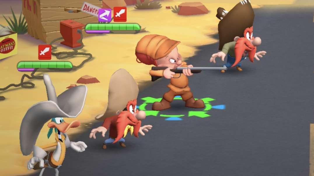 Looney Tunes Gameplay - Yosemite Sam