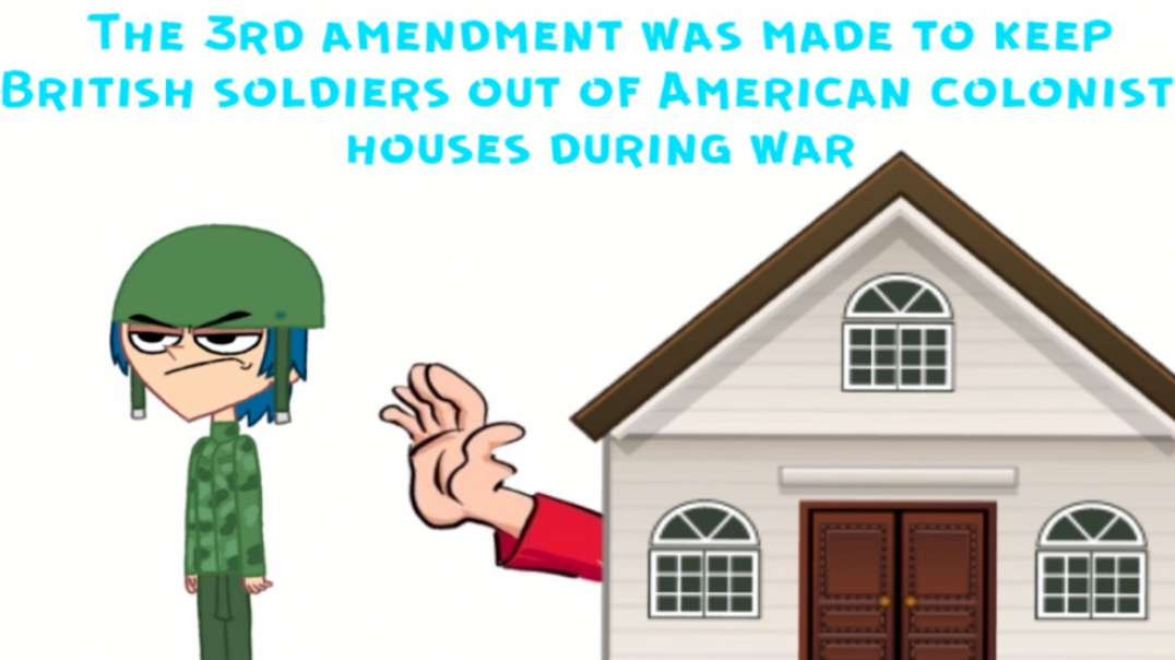 (Part 3) The Third Amendment bans a Surveillance State