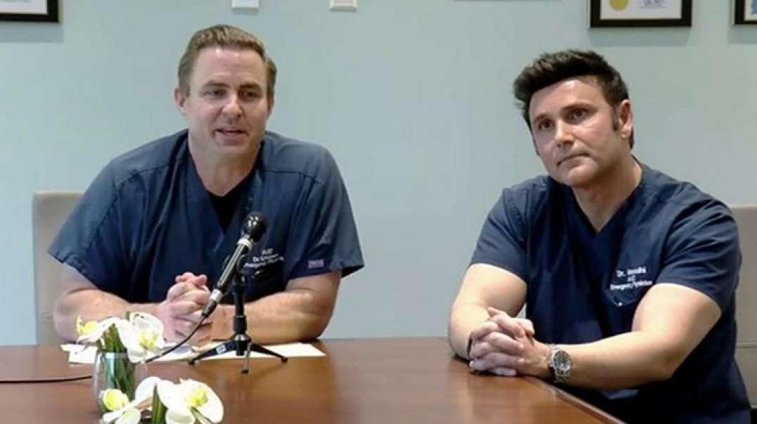 Doctors Dan Erickson and Artin Massihi COVID-19 FULL Briefing