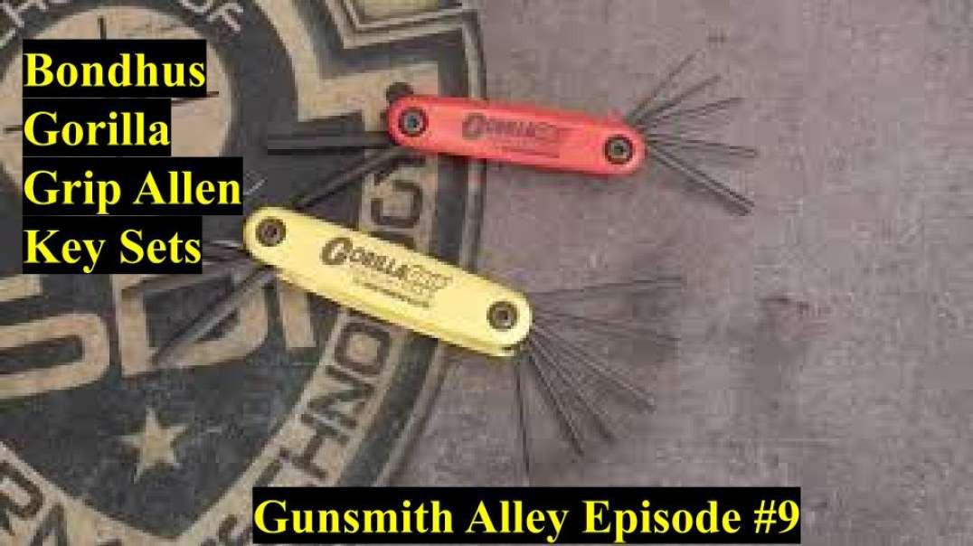 BEST ALLEN KEY SET FOR WORKING ON GUNS !!!!!!Bondhus Gorilla Grip Allen Key!!!!!!!