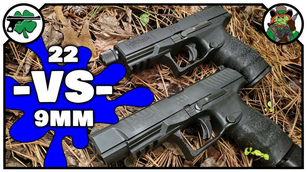 Walther PPQ 22 -VS- Walther PPQ 9mm (BENCH REVIEW)