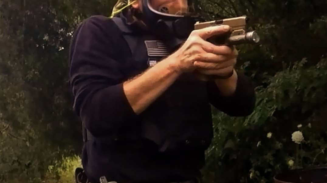 Gas Mask Pistol, Scott Promask FM3