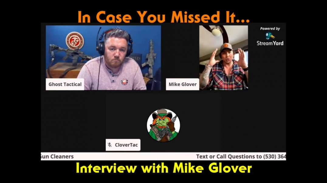 Mike Glover on The Armed Citizen Podcast