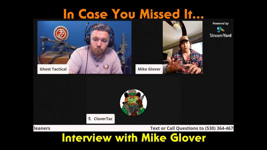 Mike Glover Talks About The Mindset of CCW