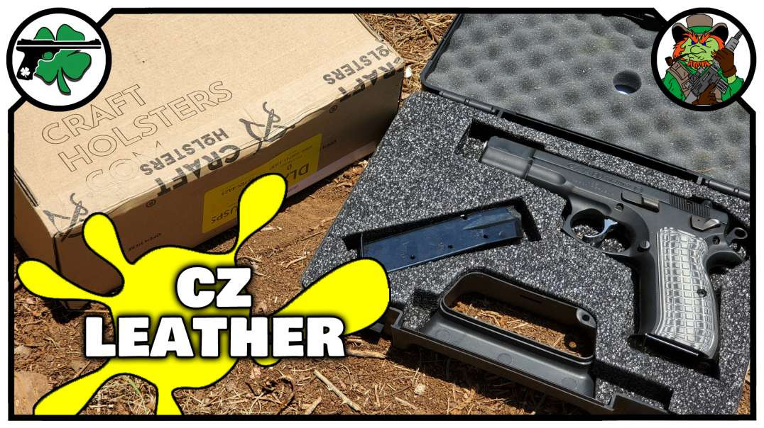 Lynx Leather IWB Holster From Craft Holsters For The CZ 75 BD UNBOXING & Initial Thoughts