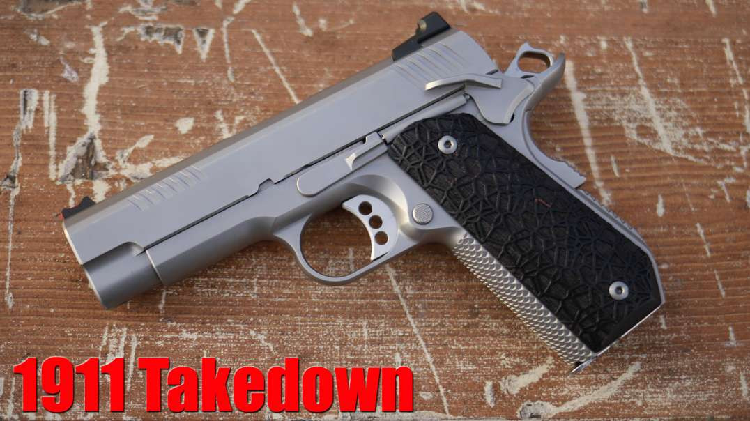 Ed Brown KC9 Bull Barrel 1911 Disassembly & Reassembly