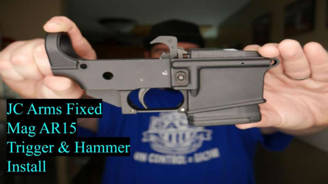 JC Arms Fixed Mag AR15 Trigger and Hammer Install !!!
