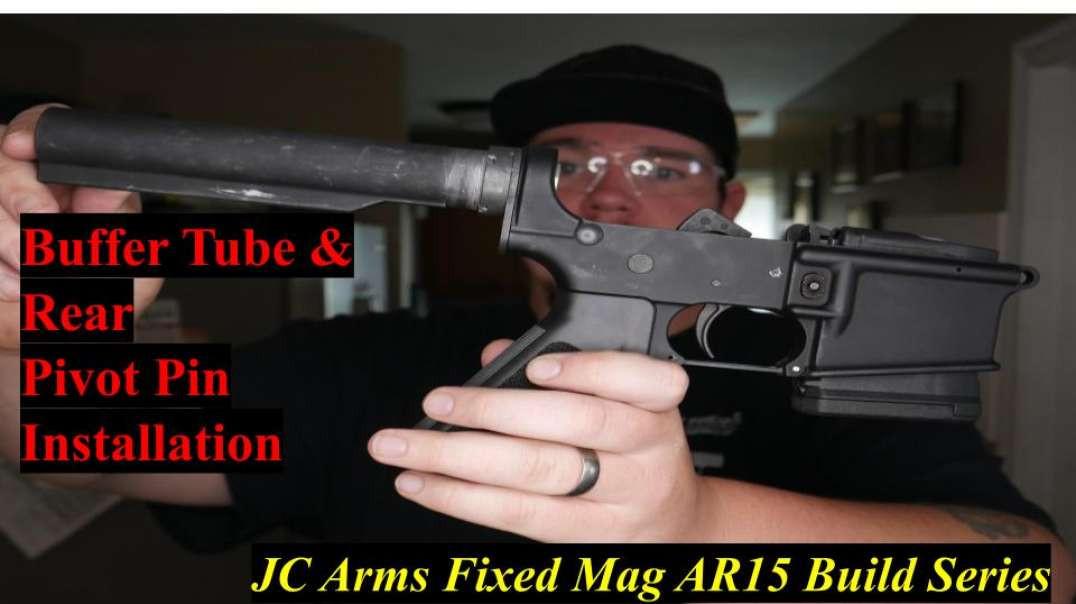 JC Arms Fixed Mag AR15 Buffer& Rear Takedown Pin Installation Gunstreamer