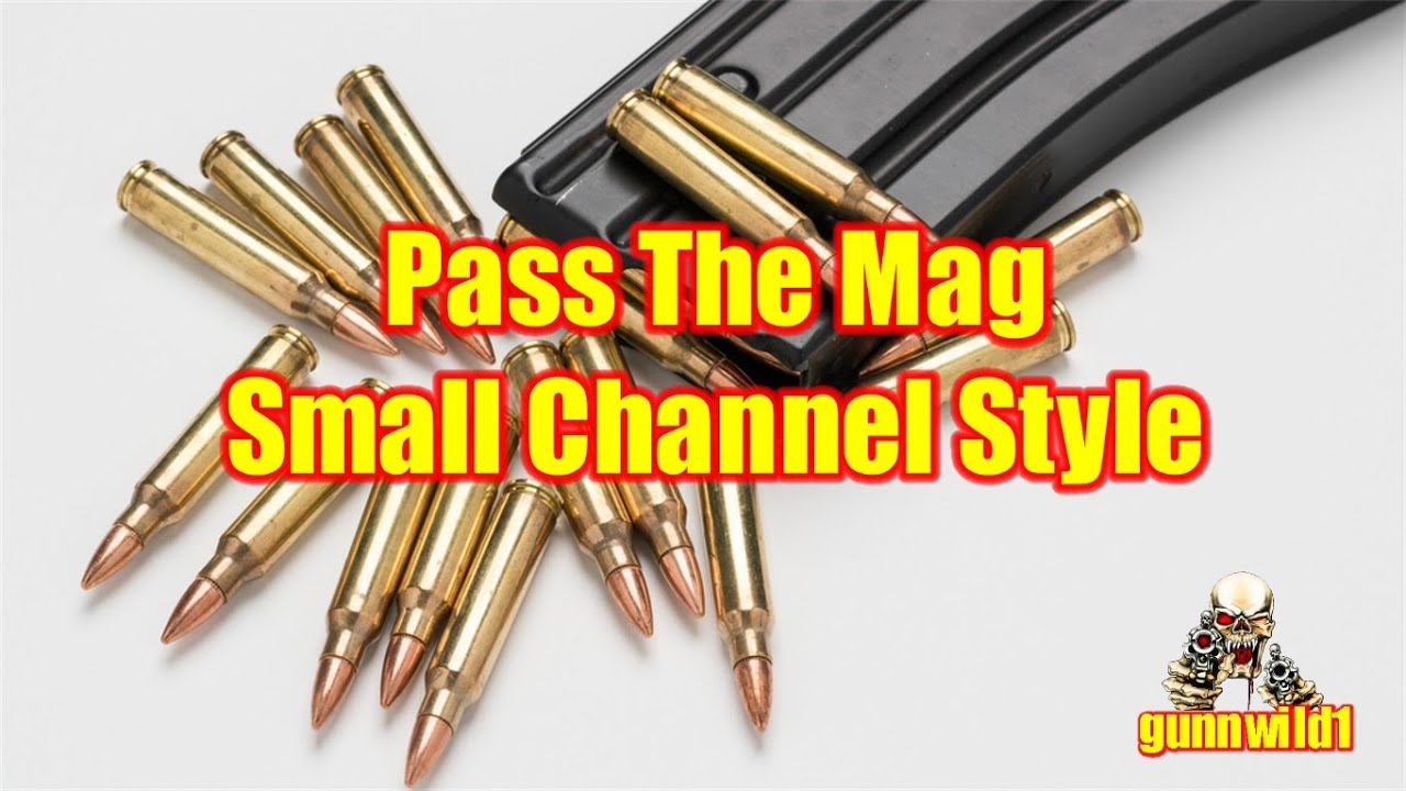 Pass the Mag Small Channel Style