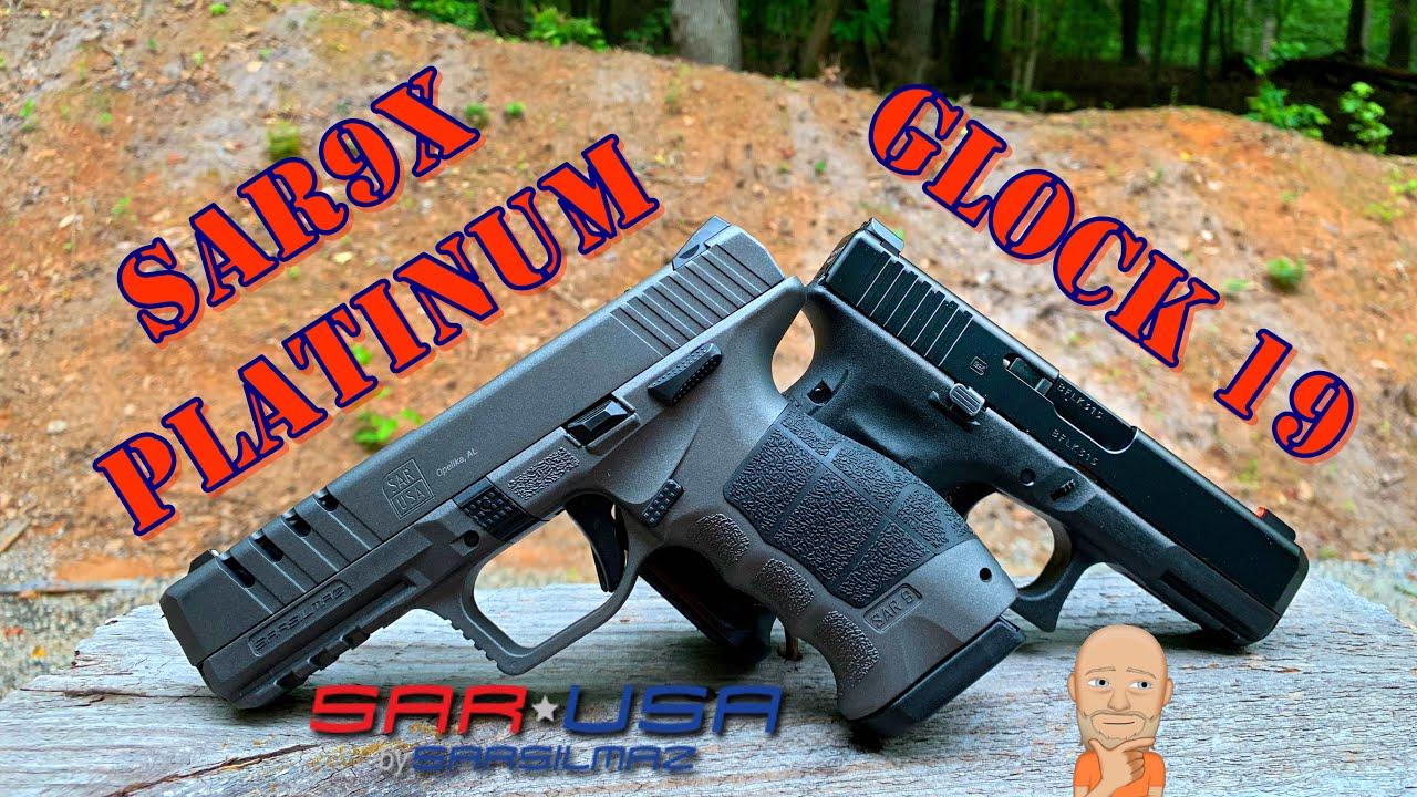 Sar9x Platinum vs Glock 19