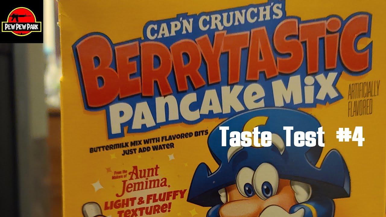 Taste Test #4: Capn Crunch Berrytastic Pancake Mix