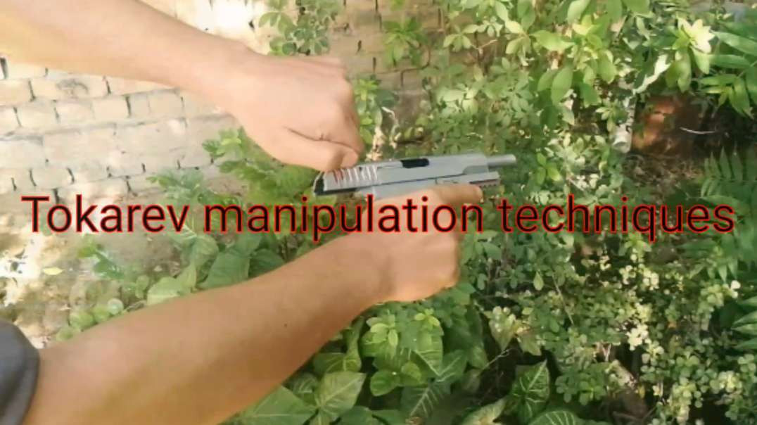 Tokarev Pistol Manipulation Drills, Loading, Unloading, Presscheck (Re-Upload)
