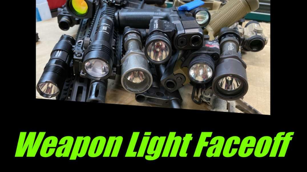 Flashlight Comparison: Surefire vs. Streamlight vs. Nitecore