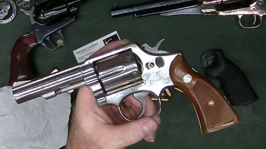 S&W Model 13 gets classic grips.mp4