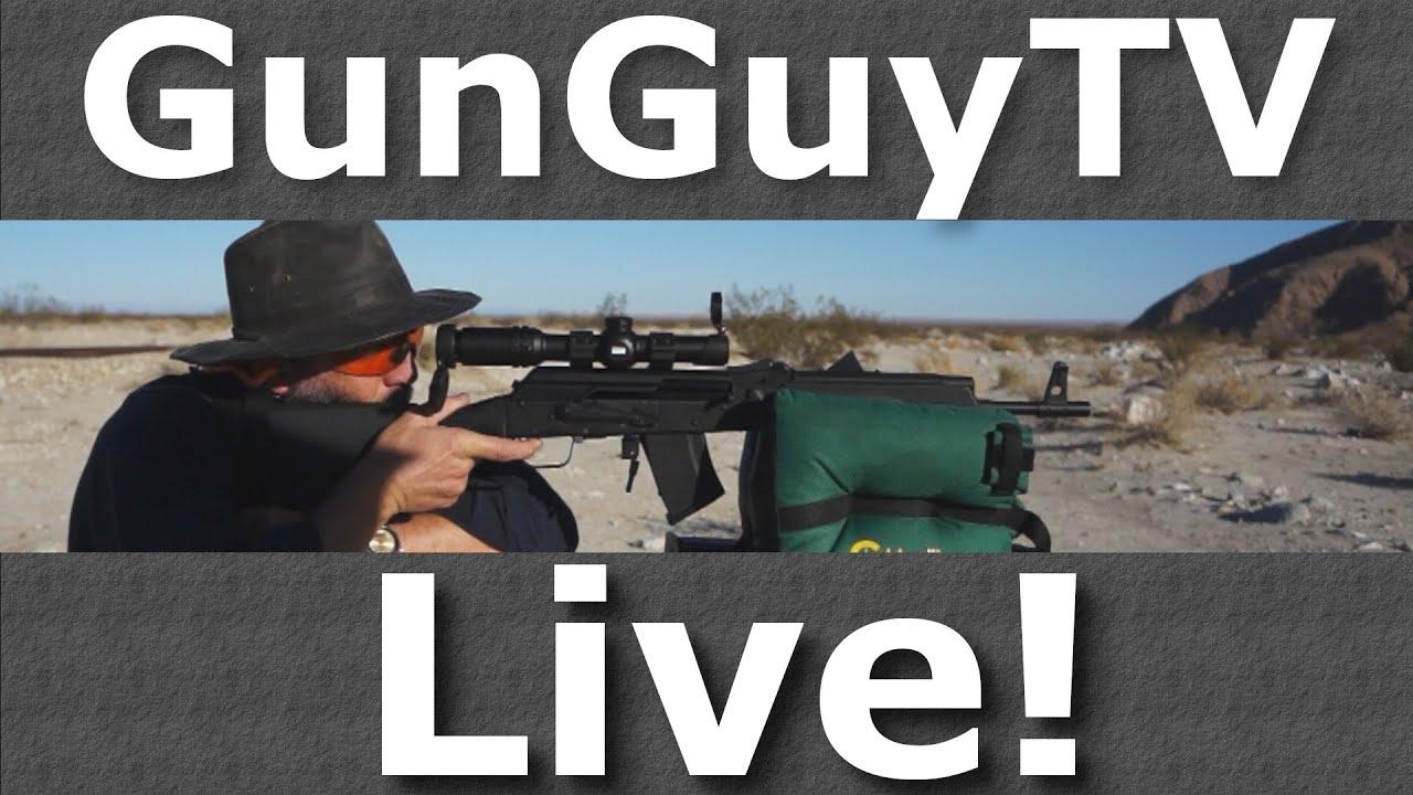 GunGuyTV Monthly Live Stream - May 2020