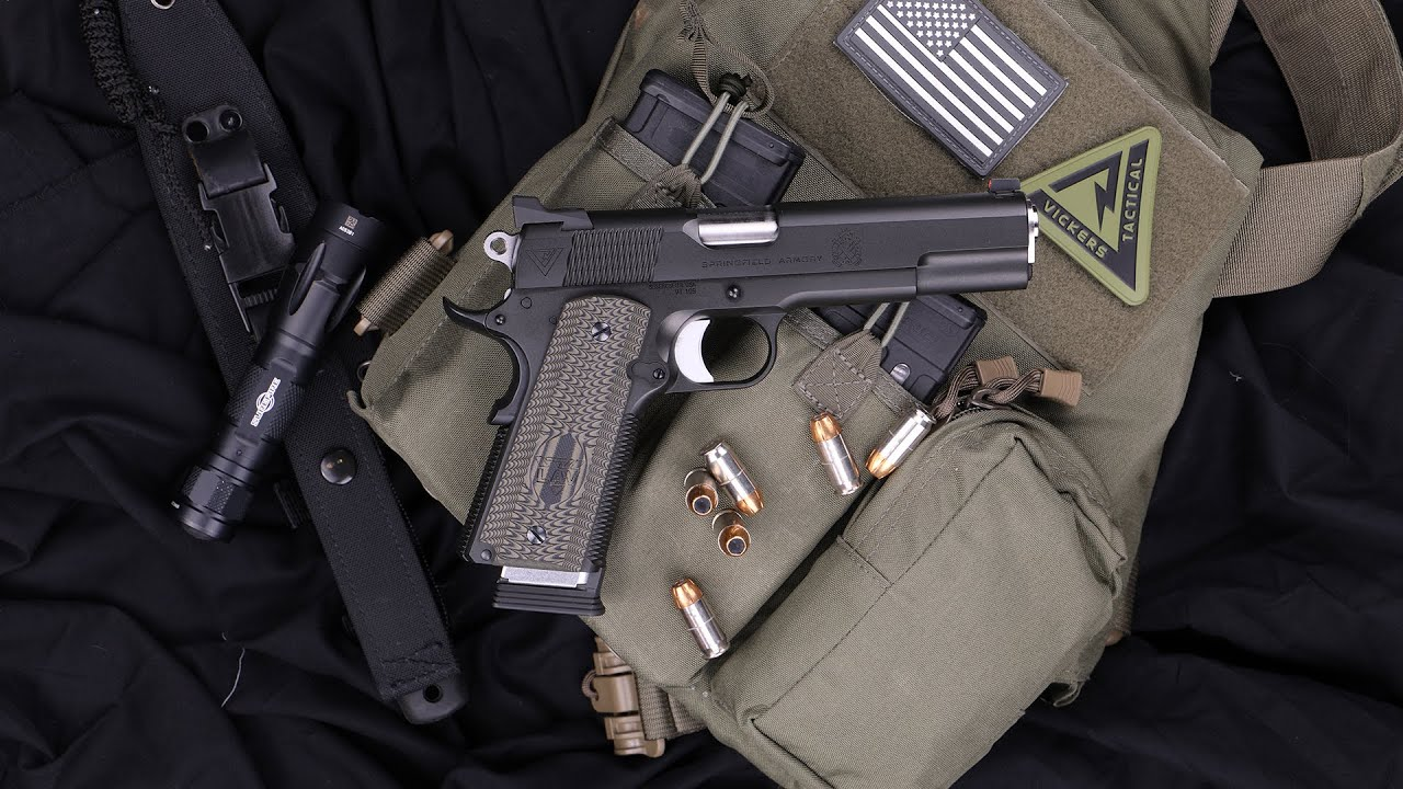 Lipsey's Exclusive: Springfield Armory Vickers Tactical 1911