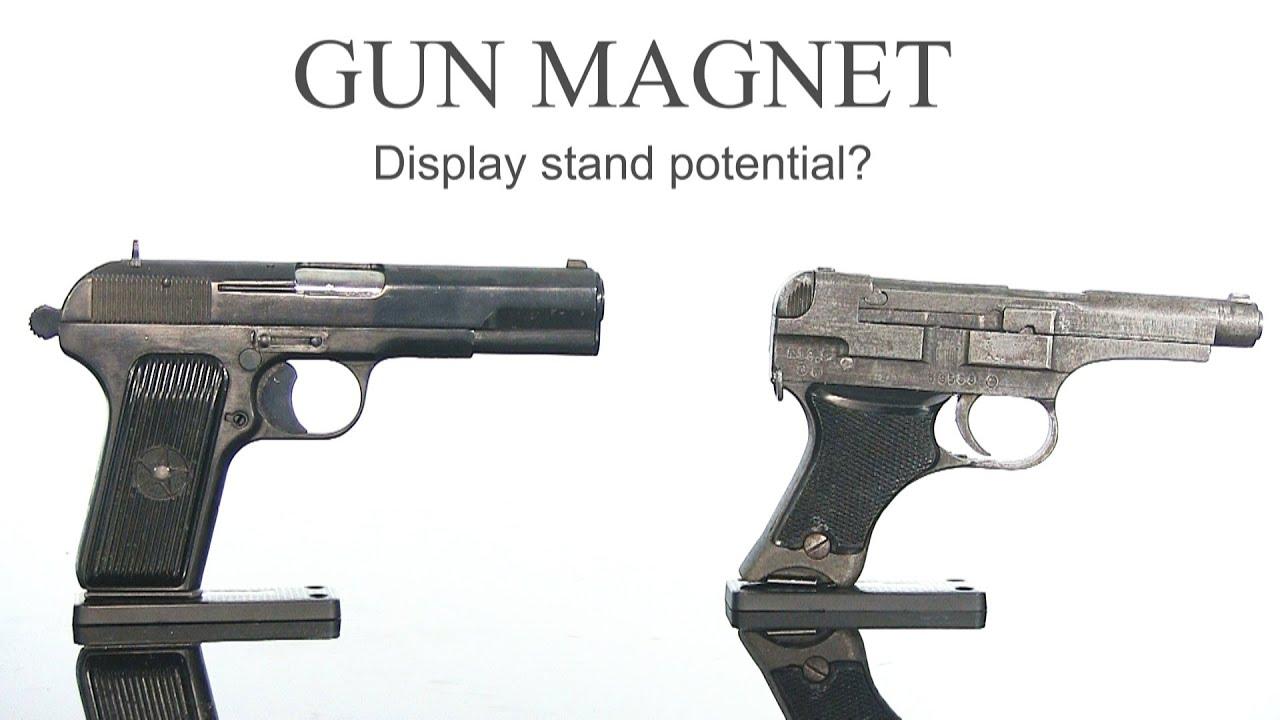 Gun Magnet -  Gun display mount