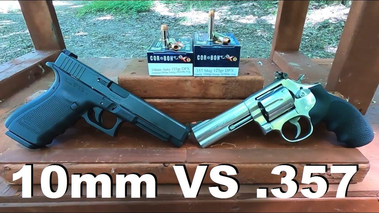10mm VS .357 Magnum Episode 1. Corbon DPX