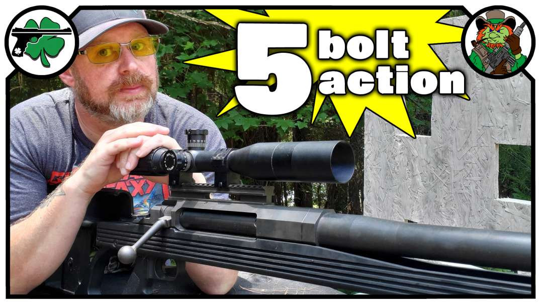 TOP 5 Bolt Action Rifles Centerfire EDITION July 2020