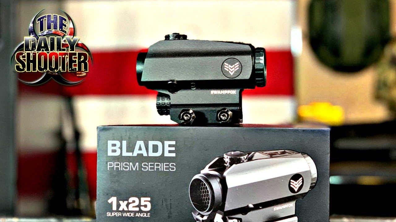 Best Optic For Astigmatism & Home Defense Swampfox Optics BLADE Prism 1x