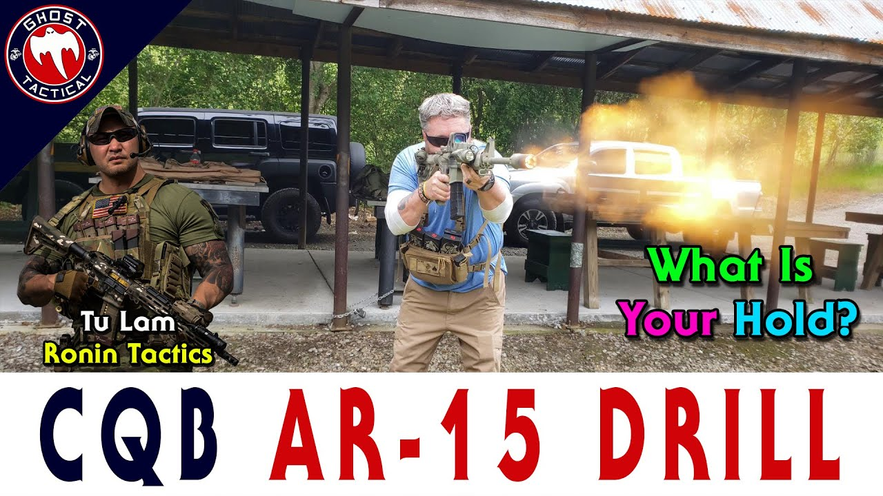 CQB AR-15 Drill:  What's Your Hold For Your Optic?  Ronin Tactics