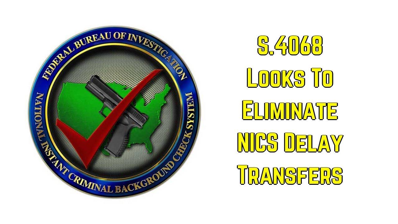 S.4068: Historic Gun Sales Bring Historic Gun Control Bill