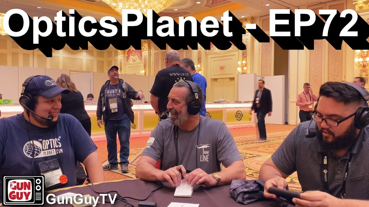 What's new at OpticsPlanet? - A Great Interview with Cal Leibovitz at SHOT Show - Episode 72