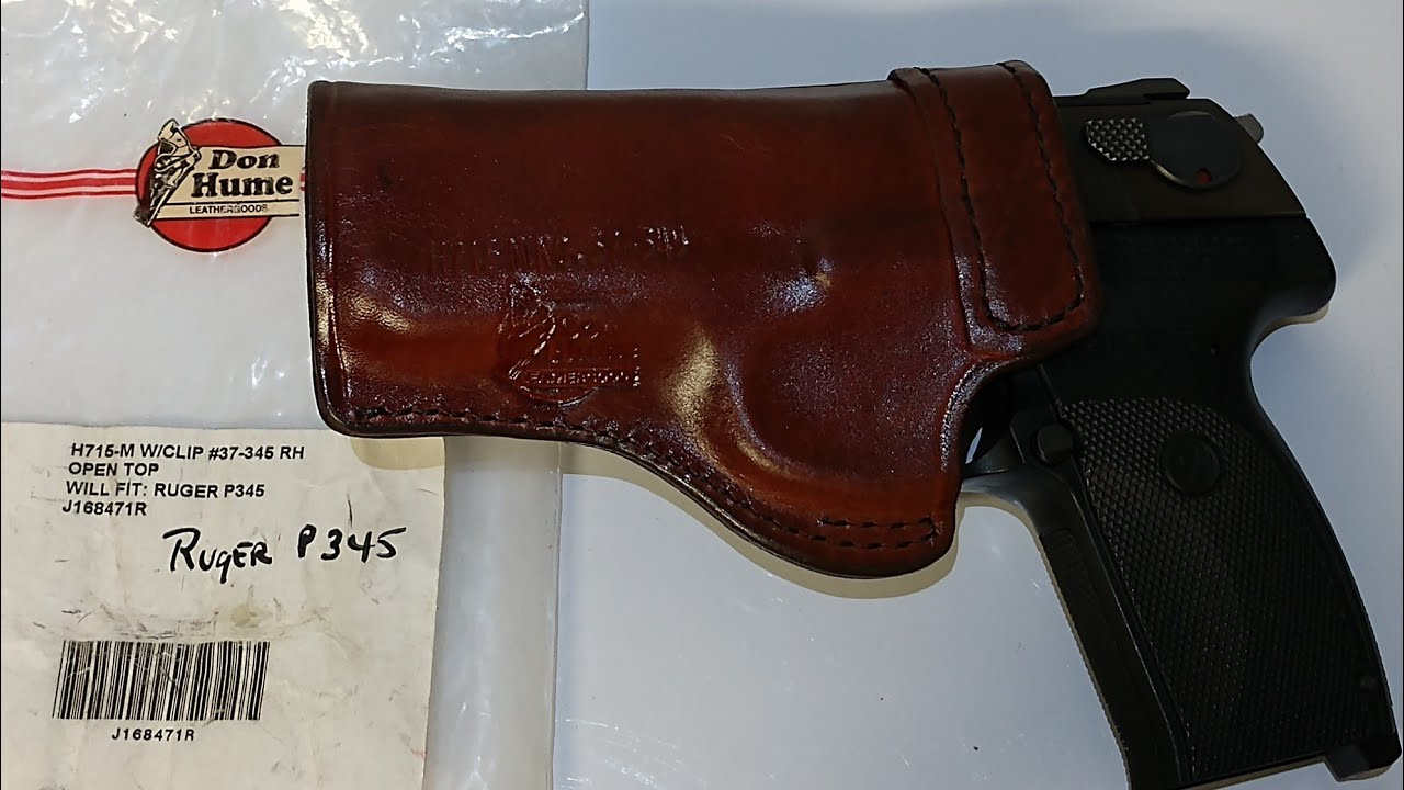 Don Hume Model 715 Holster for the Ruger P345
