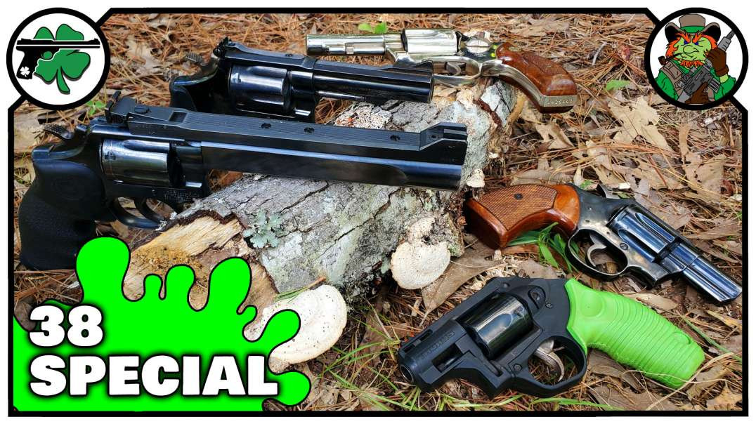 My TOP FIVE Favorite 38 Special Revolvers August 2020 Edition